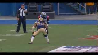 Noel Devine (The Update) Montreal Alouettes Highlights