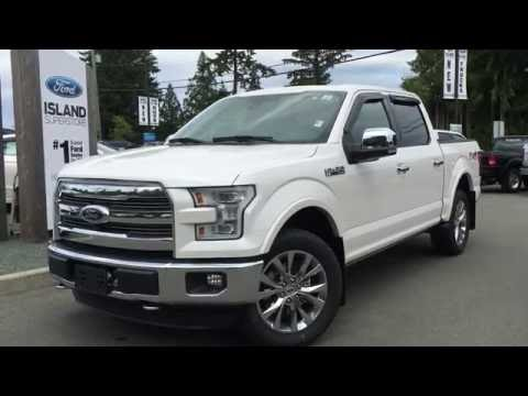 2016 Ford F-150 Lariat SuperCrew 4X4 +Nav +dual moonroof Review | Island Ford