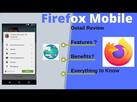 Firefox Browser Mobile Overview | Best Mobile Browser 2020 | Daily Hacks