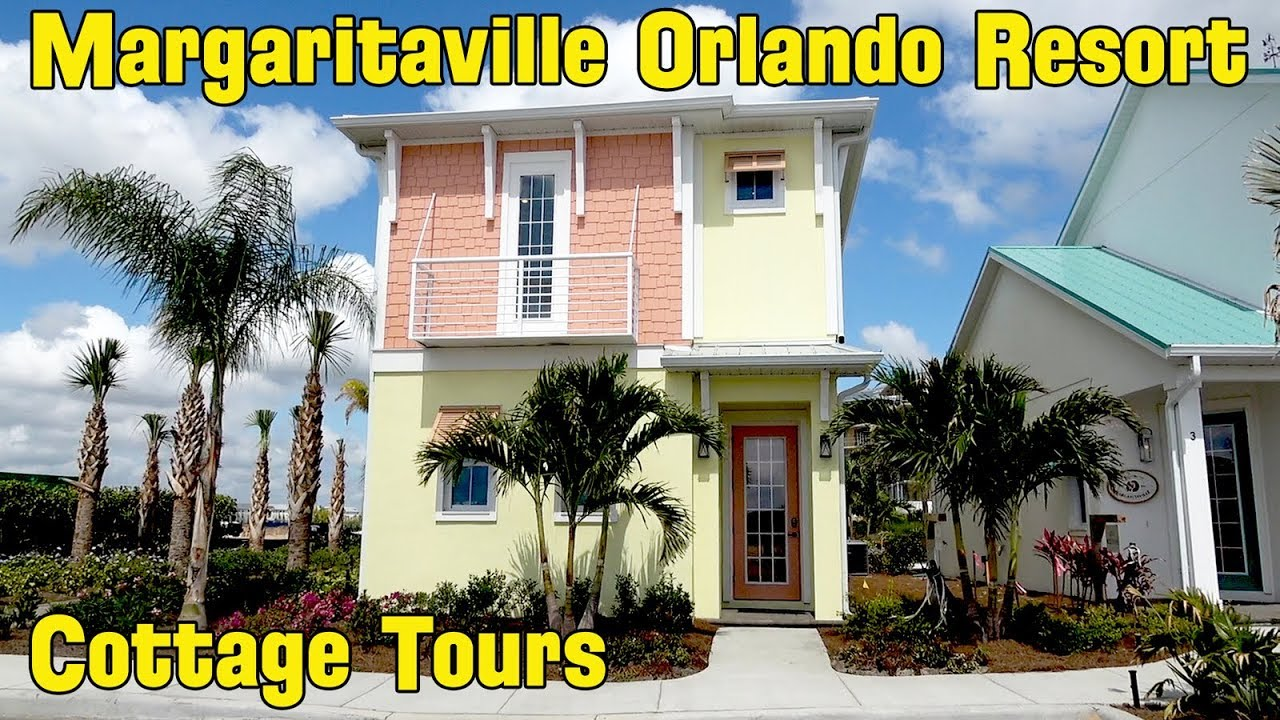 Margaritaville Resort Orlando Vacation Cottage Tours - Four Different  Cottages, 1-4 Bedrooms 3/26/18