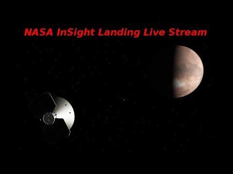 NASA InSight Landing Live Stream