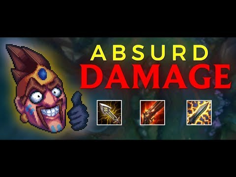 DRAVEN IS BROKEN WITH THIS NEW BUILD!   BEST DRAVEN BUILD S9 (Patch 9.3)
