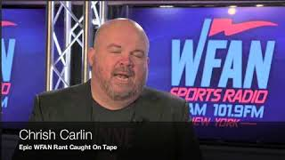 Chris Carlin Vulgar Rant Caught on Tape