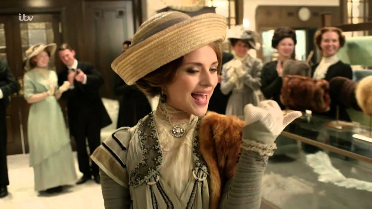 who plays ellen love in mr selfridge