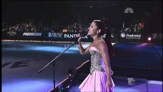 Repeat youtube video Ariana Grande - Only Girl In The World (2011 Skating/Gymnastics Spectacular)
