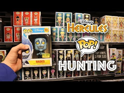Hercules Funko Pop Hunting at Hot Topic