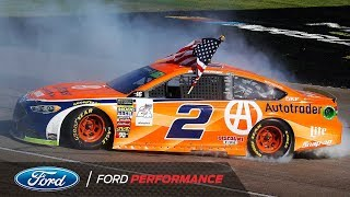 Brad Keselowski Wins 2018 NASCAR Playoffs Opener in Las Vegas | Ford Performance