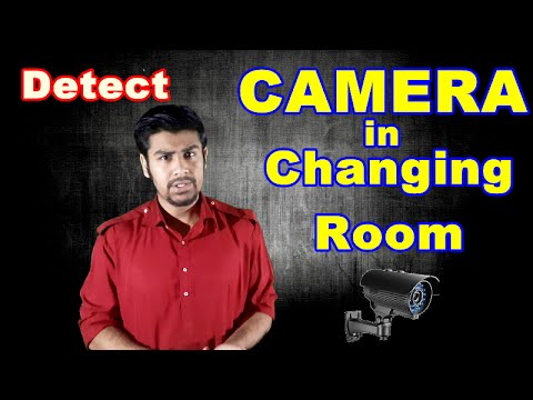 How to detect Camera in Changing Room/Trial Room (In Hindi)