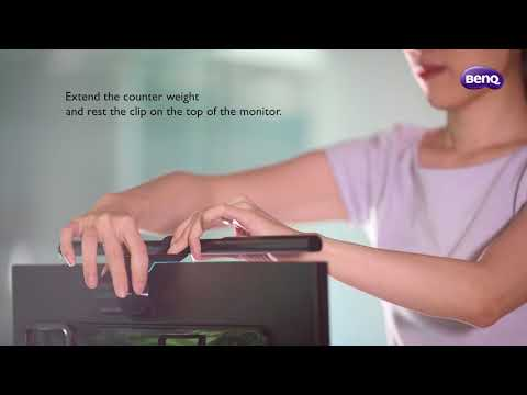 BenQ ScreenBar e-Reading Lamp - Instruction Video