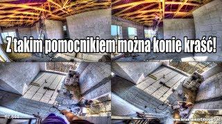Stokrotka pomocniczka :) Podłoga na poddaszu? cz.2/2 Jak wybudować dom? Zrób to sam (12/15)