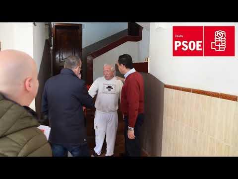 El PSOE vuelve a Juan Carlos I en la segunda vuelta de su gira por las barriadas