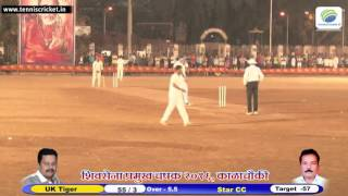 Chatur Batting Need 8 Runs in 2 Balls | Shivsena Pramukh Chashak 2016 |
