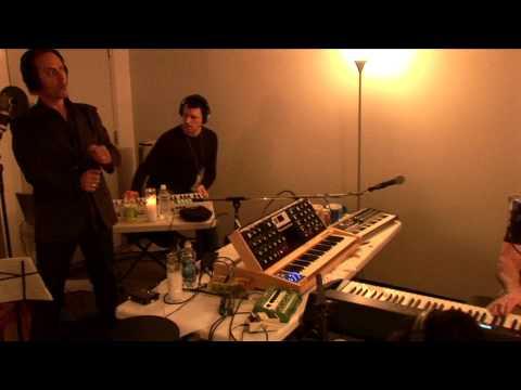 """Nightclubbing"" live 6.23.06. Trent Reznor, Peter Murphy, Atticus Ross, Jeordie White."
