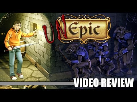 Review: UnEpic (PlayStation 4 & PS Vita) - Defunct Games