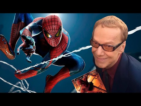 The Amazing SpiderMan Final Swing with Danny Elfman's music.