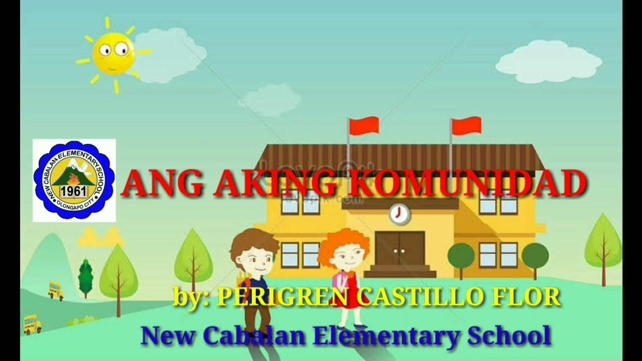ARALING PANLIPUNAN 2 - ANG AKING KOMUNIDAD Q1 Week 1 To be continued... -  YouTube [ 720 x 1280 Pixel ]