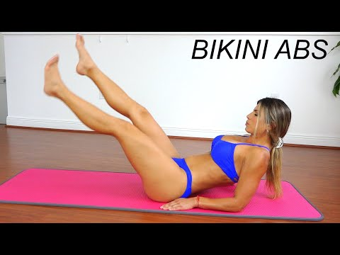 WOW!!! Intense BIKINI ABS Workout! See if you can do it!