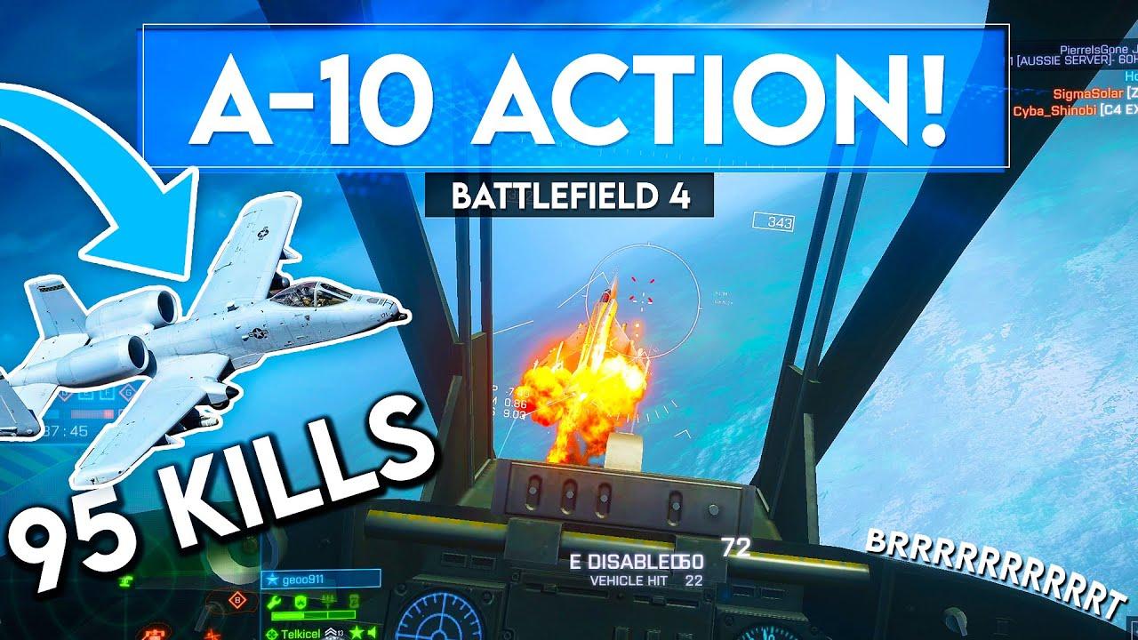 The A-10 Warthog is NO JOKE in Battlefield 4...