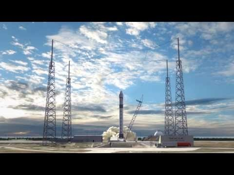 Tech one - SpaceX - Future Reusable Rockets & Spacecraft (Animation)