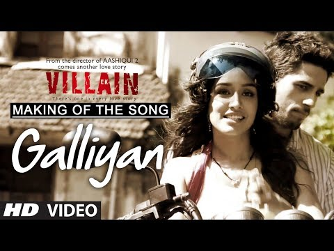 Making of the song Galliyaan | Ek Villain...