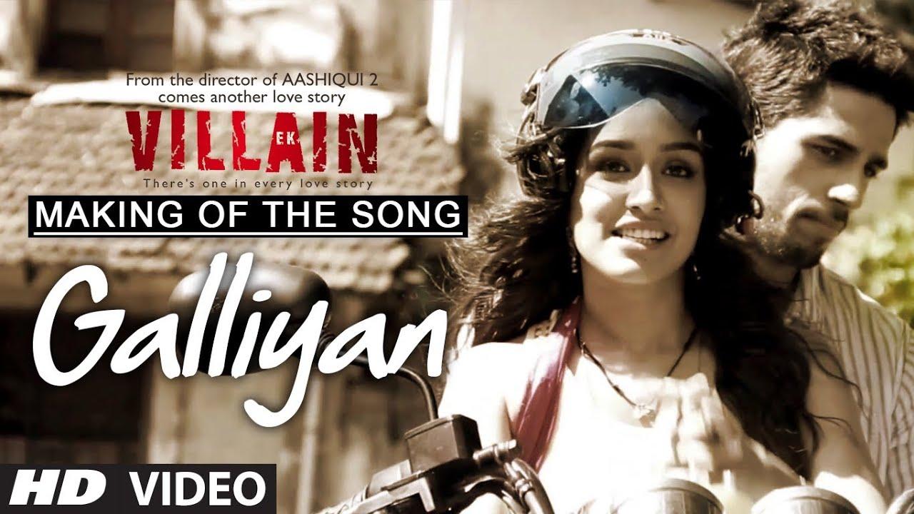 Making Of The Song Galliyaan