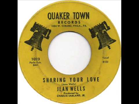Jean Wells (& Grp.) - Sharing Your Love (Quaker Town 1023) 1965