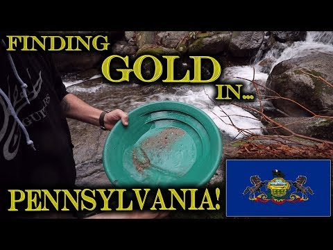 Prospecting For GOLD In Pennsylvania With Friends