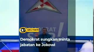 Demokrat sungkan minta jabatan ke Jokowi