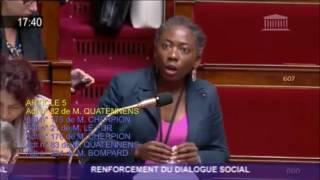 Vif échange entre la députée D.Obono (FI) et la ministre du travail sur la pénibilité !