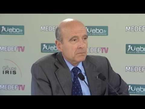 Interview d'Alain Juppe
