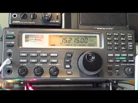 Part 1 of 2 Radio Oomrang special broadcast from France relay 15215 Khz Shortwave