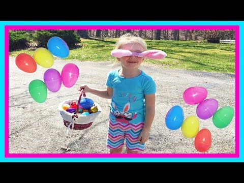 30 SURPRISE EGGS! Easter Egg Hunt in the Pirate Ship Playground Park for Kids W Fun Factory