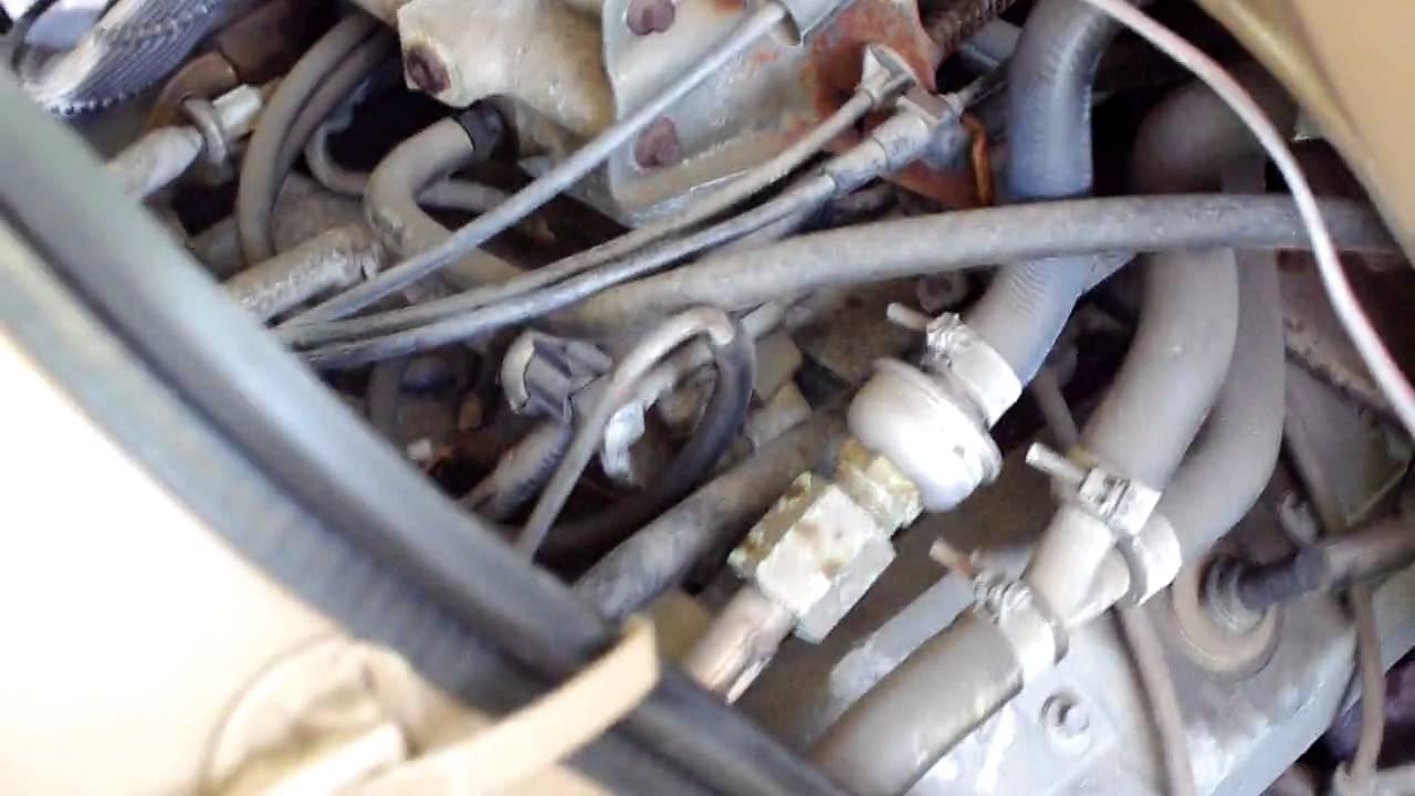 Chevy 350 Engine Vacuum Hose Diagram