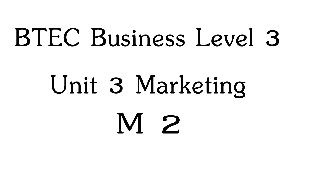 btec business level 3 unit Home » curriculum » business studies » business btec level 3 national  extended  everyone taking this qualification will study three mandatory units.