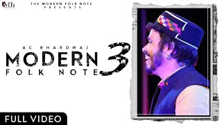 The Modern Folk Note-3 | A.C.Bhardwaj & Charu Sharma | Shashi Bhushan Negi |