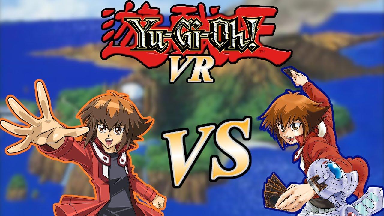 Yugioh VR - Manga Jaden vs Anime Jaden Deck - YouTube