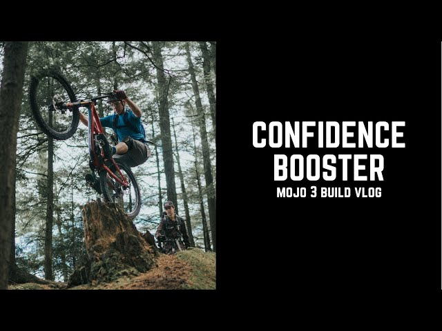 BIG tires VS little bike: new shoes on Mojo3!!!