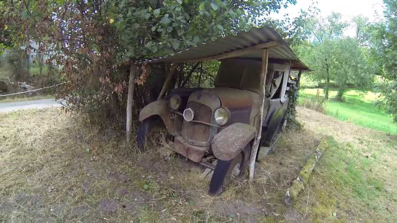 Barn find old Citroen 1930's - YouTube