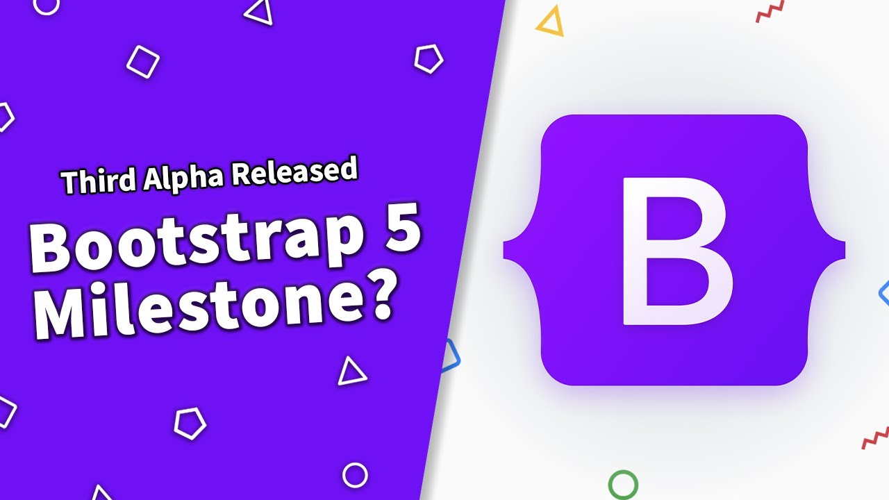 Bootstrap 5 Alpha 3 Released!