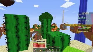 สัญญาปีศาจต้องชนะภายใน 60 วิ - Minecraft LuckyBlock Skywars   Hypixel