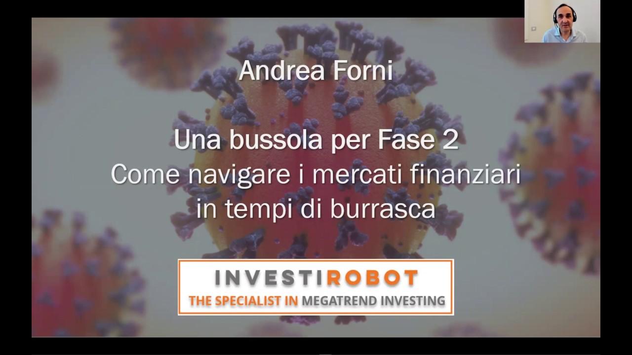"""""""Covid-19 Una bussola per Fase 2"""" - Video del webinar di Andrea Forni del 5 maggio 2020"""