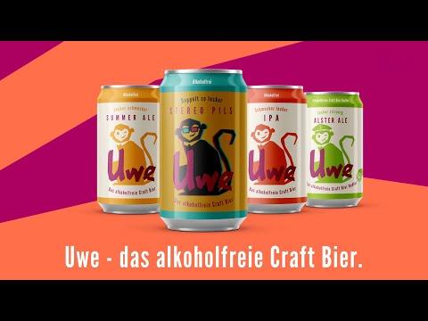 Uwe - das alkoholfreie Craft Bier - jetzt bei Aldi Süd