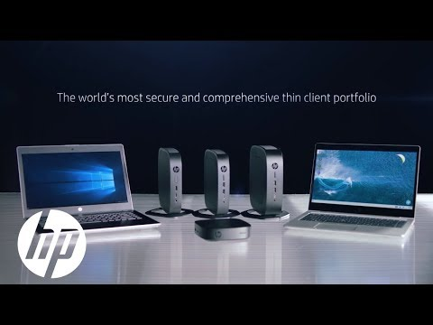 HP Thin Clients – Modern. Secure. Manageable. Versatile. | Cloud Clients | HP