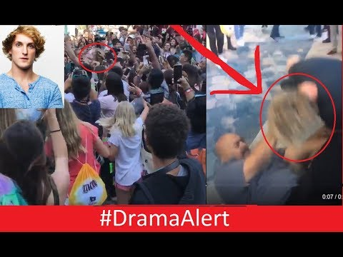 Thumbnail: Logan Paul TACKLED by Security @Vidcon #DramaAlert RiceGum Kicked from Vidcon! FaZe Rug!
