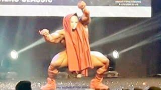 Amazing Performance By IFBB Pro Kai Greene Guest Posing @ Sheru Classic 2016 Mumbai India [1080p]