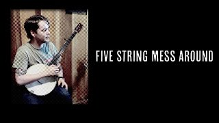 5 String Mess Around - Episode 005 - Billy Strings (Clawhammer Banjo Lessons + Hangout)