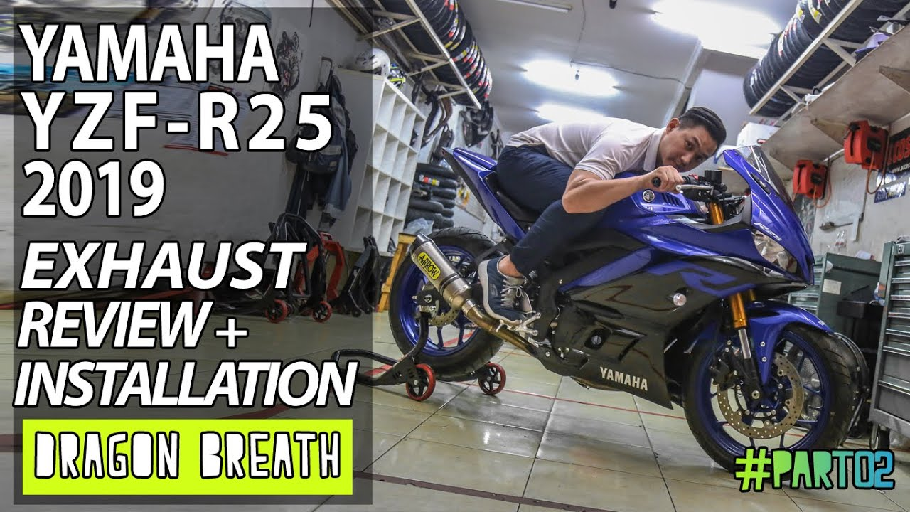 Yamaha R25 Knalpot Racing Prospeed Mf Series Vixion Old Full