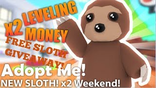 HOW TO GET A FREE SLOTH IN ADOPT ME| Roblox|