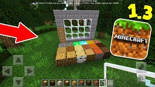 SAIU A NOVA TEXTURA PADRÃO DO MINECRAFT POCKET EDITION 1.3 (Minecraft 1.3)