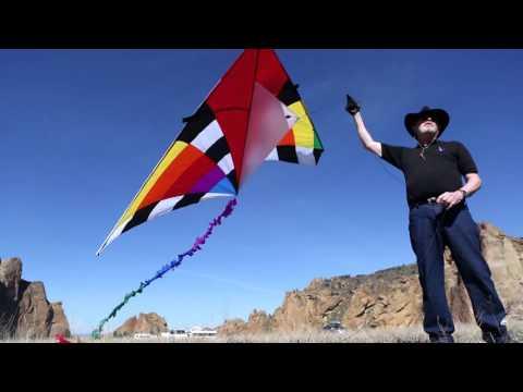 Aerial Kite Photographer Explores Smith Rock